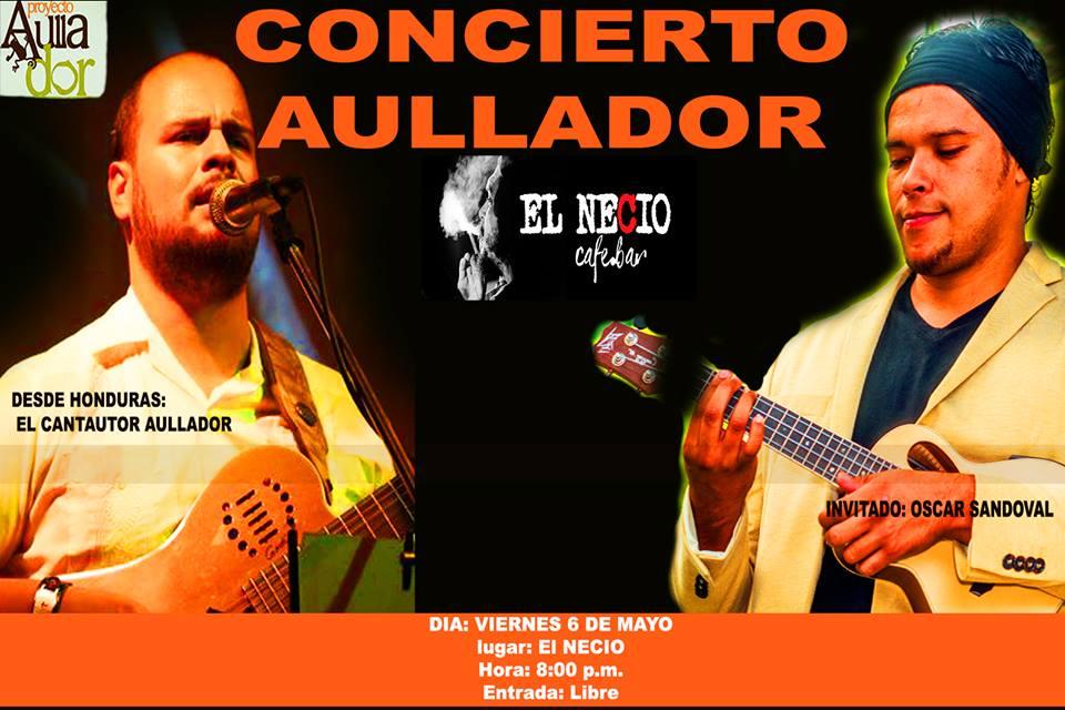 Concierto Aullador - El Salvador